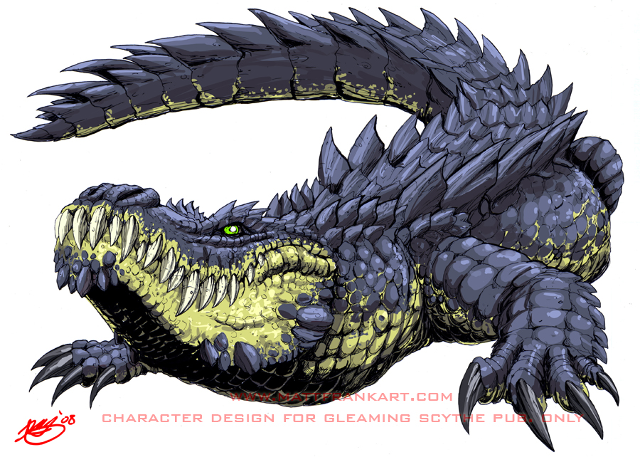 Fabelwesen-Planung (FSK 12) - Seite 10 Giant_Alligator_by_KaijuSamurai