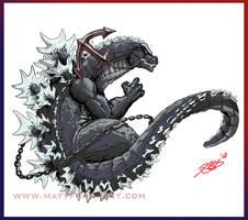 Godzilla Navy refurb