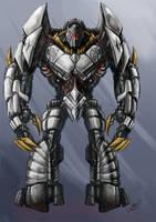 Grimlock Roboto by KaijuSamurai