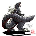 Godzilla Neo - GHOST GODZILLA