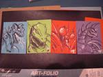 G-Fest 2010 Sketch Cards