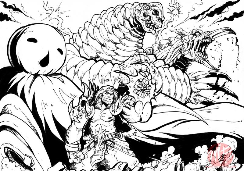 Reionyx Team Skull By KaijuSamurai On DeviantArt