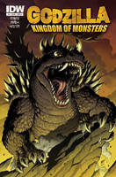 Godzilla KOM issue 3 cover by KaijuSamurai