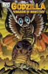 Godzilla KOM Issue 4 RE cover
