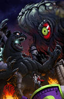 Godzilla vs Hedorah by KaijuSamurai