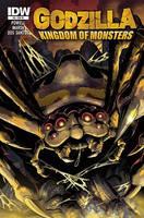 Godzilla KOM Issue 6 RE cover by KaijuSamurai