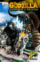Godzilla - GNG SDCC cover by KaijuSamurai