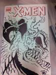 X-Men sketch cover