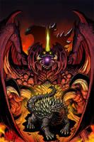 Godzilla: Legends issue 1 by KaijuSamurai