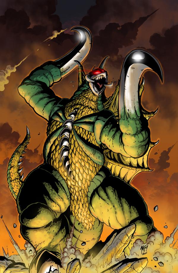 Godzilla KOM issue 9 cover by KaijuSamurai