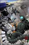 Godzilla vs Kiryu in SA