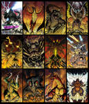 Godzilla Spotlight Covers