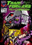 Fall of Cybertron comic cover - Botcon Print