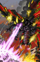 GODZILLA issue 3 cover by KaijuSamurai