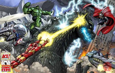 The Avengers VS Godzilla