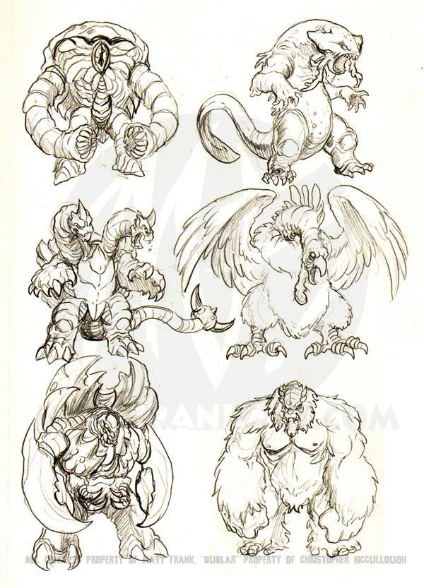Kaiju Combat Concepts by KaijuSamurai