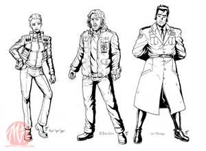 Godzilla IDW concepts - Hoomans