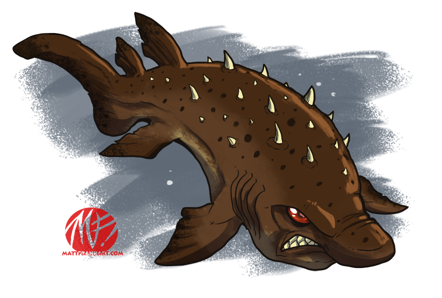 Shark Week 2012 - Bramble Shark by KaijuSamurai