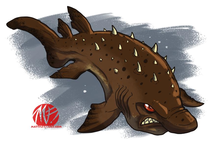 Shark Week 2012 - Bramble Shark by KaijuSamurai