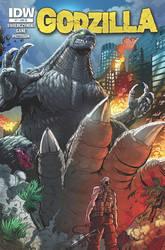 Godzilla issue 7 cover