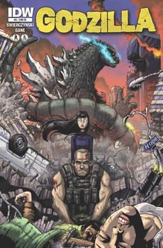 Godzilla issue 8 cover