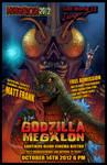 Godzilla vs Megalon poster