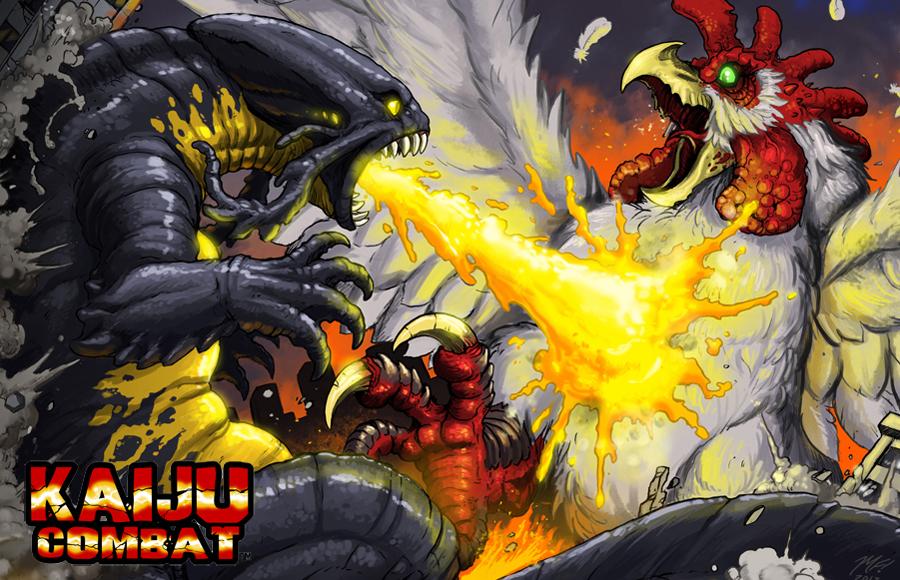 Kaiju Combat battle promo by KaijuSamurai ...
