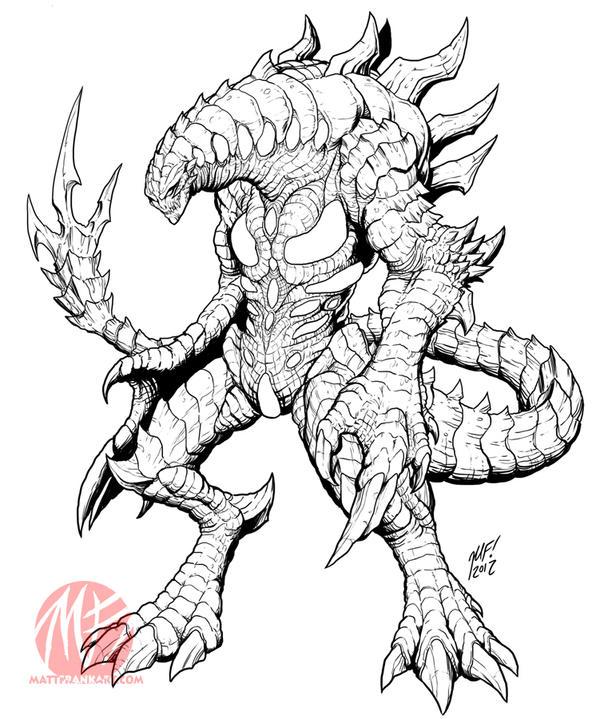 Kaiju Combat Preview - Nemesis by KaijuSamurai