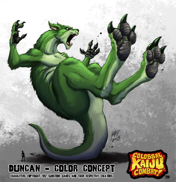 Kaiju Combat - Duncan by KaijuSamurai