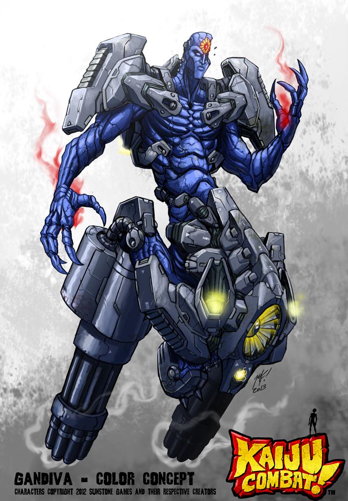 Kaiju Combat - Gandiva by KaijuSamurai