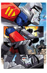 Mars Attacks the Transformers - preview page 1