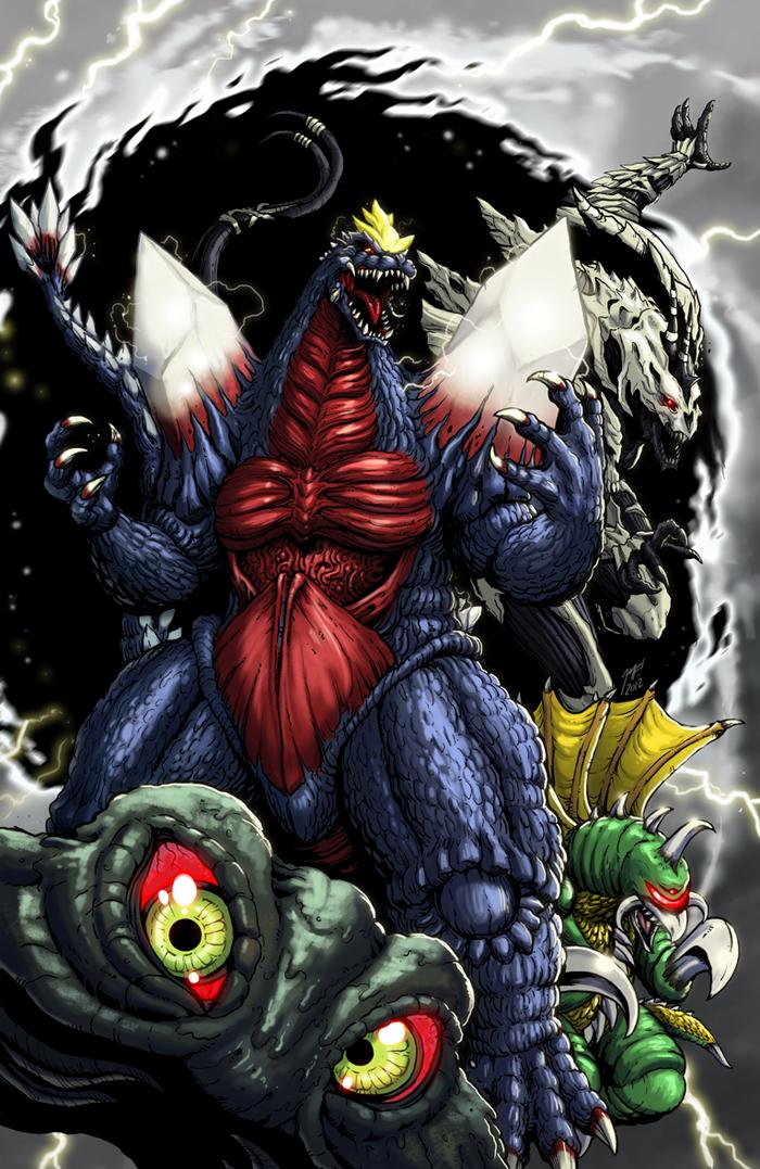 New Godzilla Crossover Alternate Mlp S 3 By Kaijualpha1