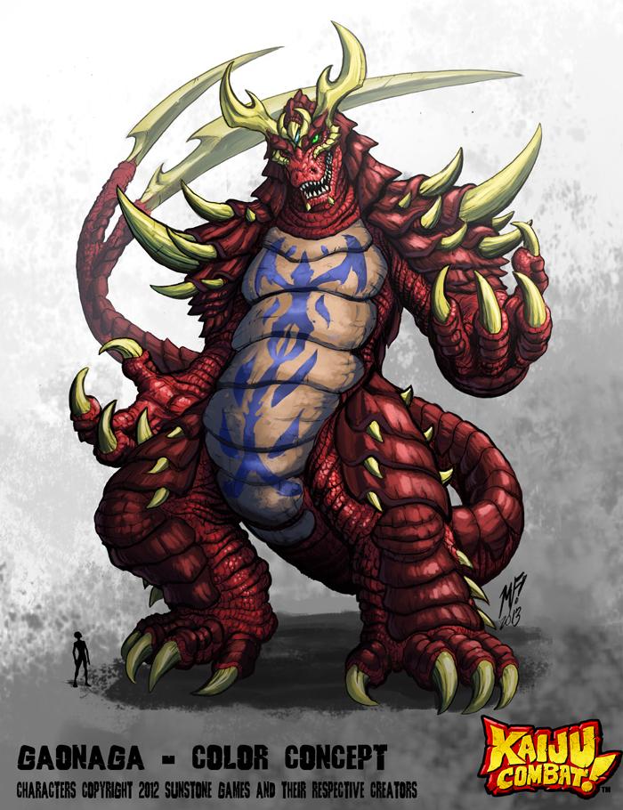 Kaiju Combat - Gaonaga by KaijuSamurai