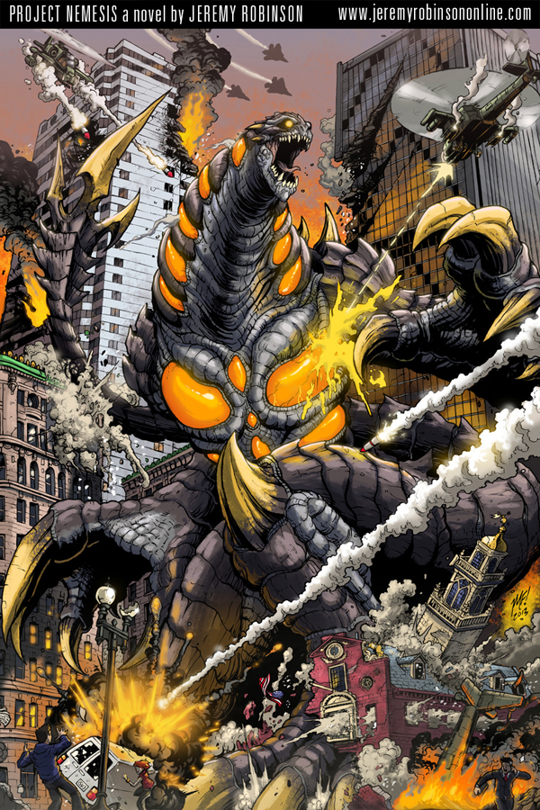 Project Nemesis poster by KaijuSamurai