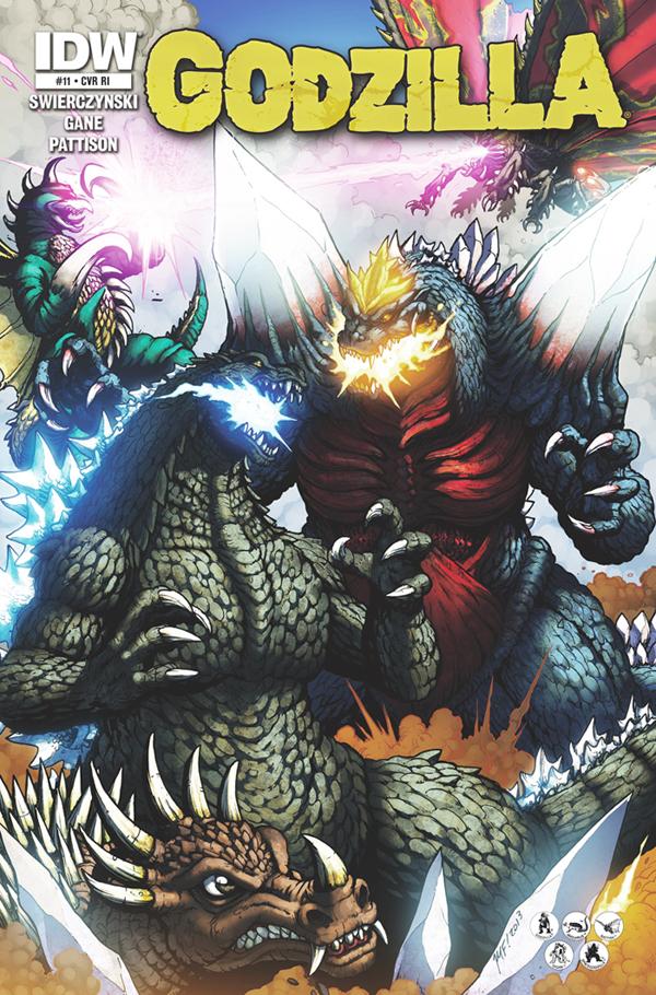 Godzilla cover 11 by KaijuSamurai