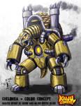 Kaiju Combat - Chelonra