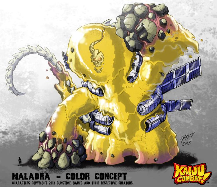 Kaiju Combat - Maladra by KaijuSamurai