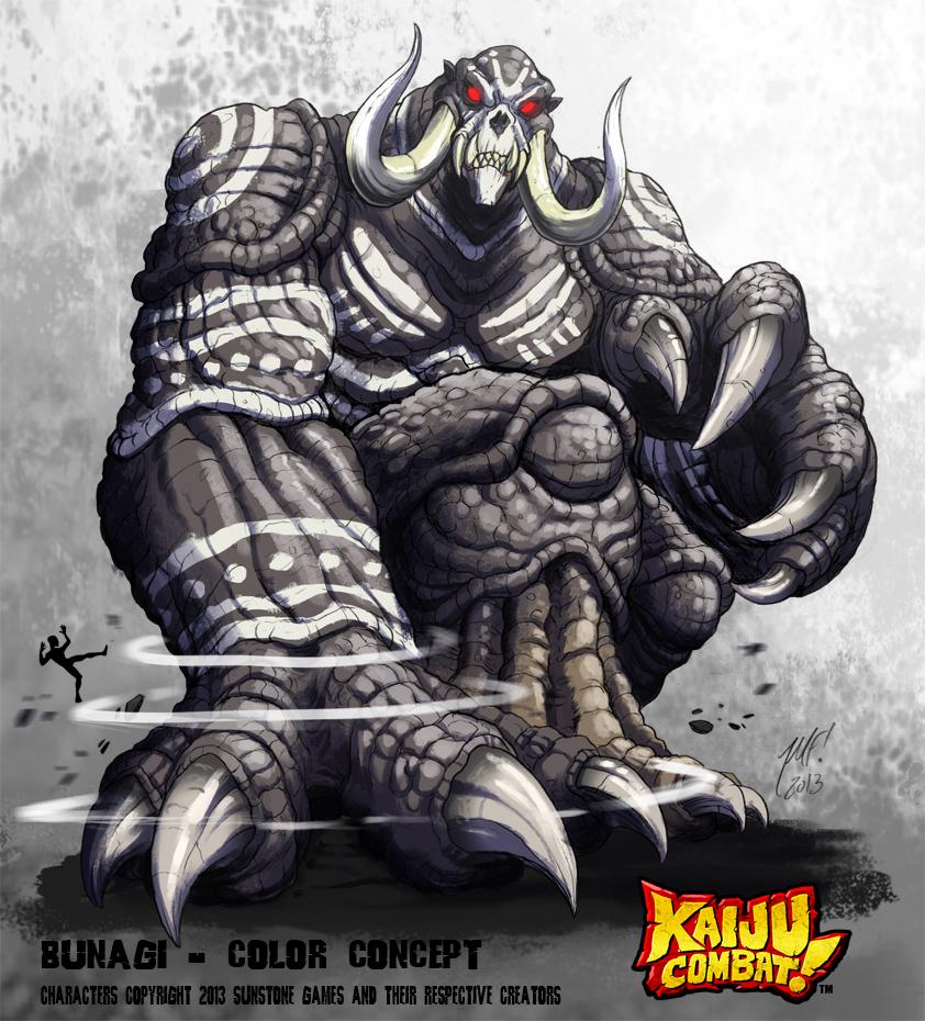 Kaiju Combat - Bunagi by KaijuSamurai
