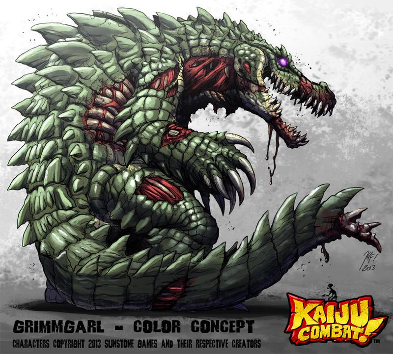 Kaiju Combat - Grimmgarl by KaijuSamurai