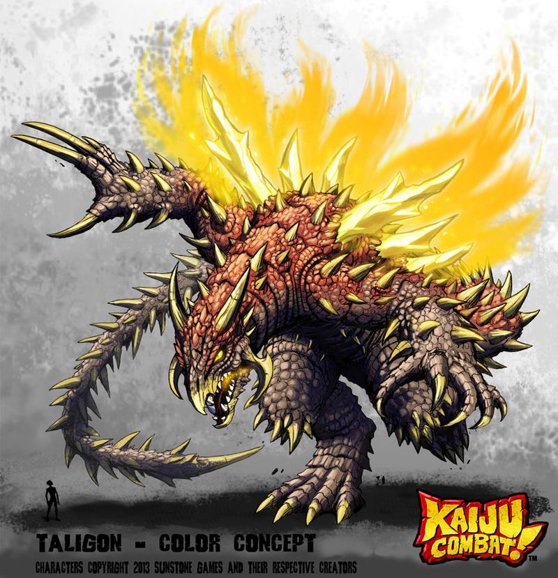 Kaiju Combat - Taligon by KaijuSamurai