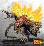Kaiju Combat - Taligon