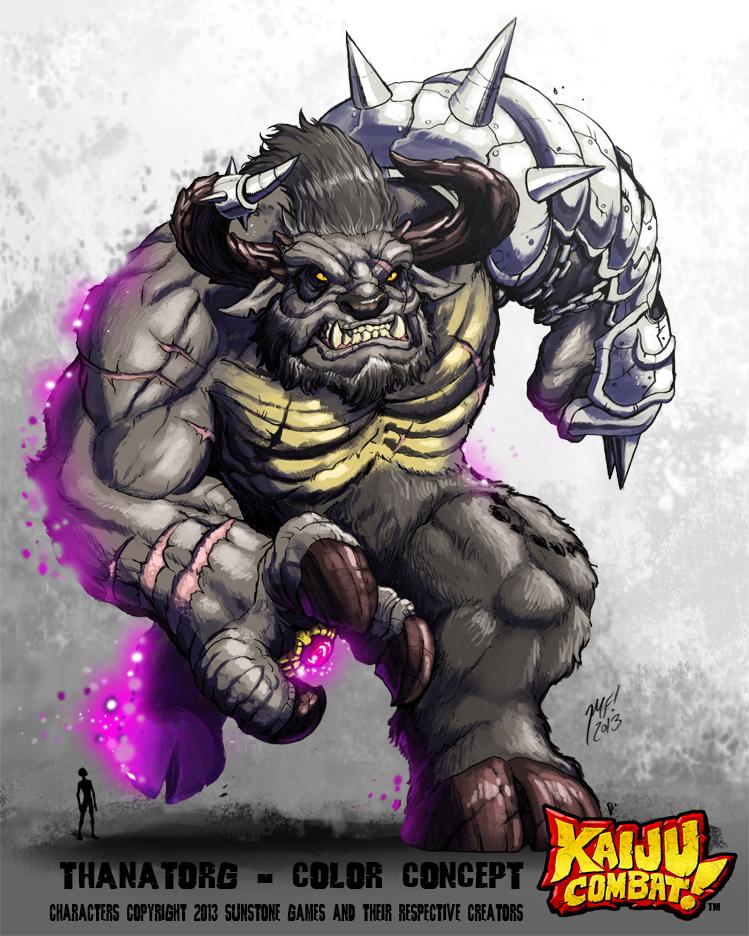 Kaiju Combat - Thanatorg by KaijuSamurai