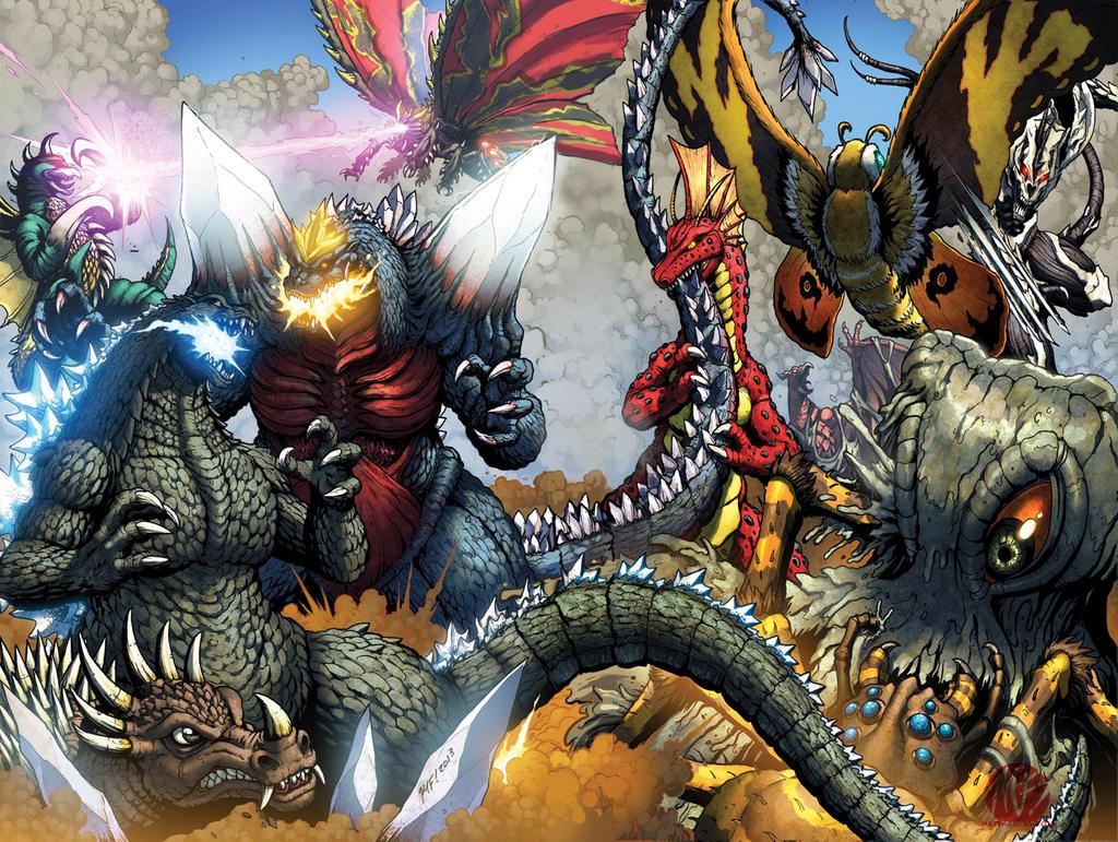 Godzilla Ongoing 11-12 Full Battle! by KaijuSamurai