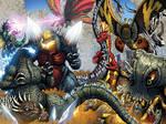 Godzilla Ongoing 11-12 Full Battle!