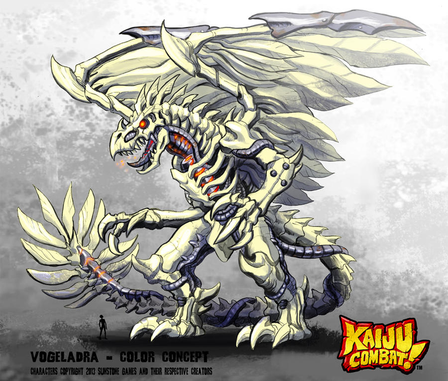 Kaiju Combat - Vogeladra by KaijuSamurai