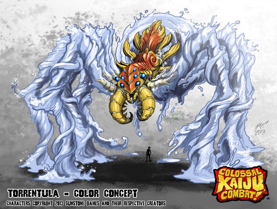 Colossal Kaiju Combat - Torrentula by KaijuSamurai