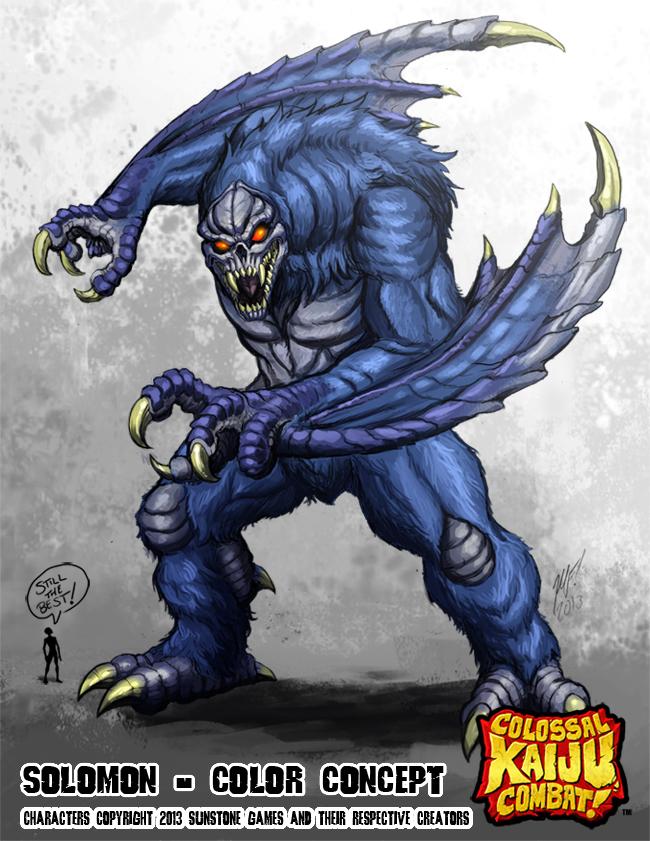 Colossal Kaiju Combat - Solomon by KaijuSamurai