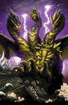 Godzilla Ongoing 13 cover
