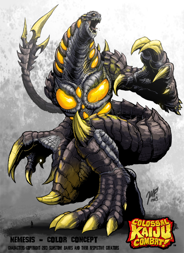 Colossal Kaiju Combat - Nemesis by KaijuSamurai