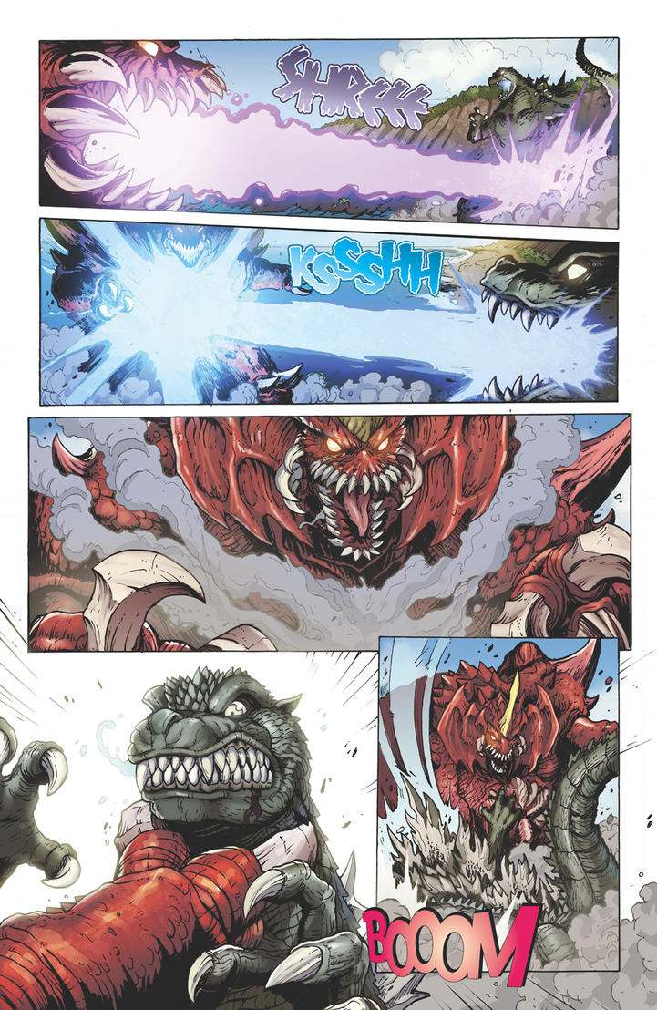 Godzilla Rulers of Earth issue 4 - page 7 by KaijuSamurai